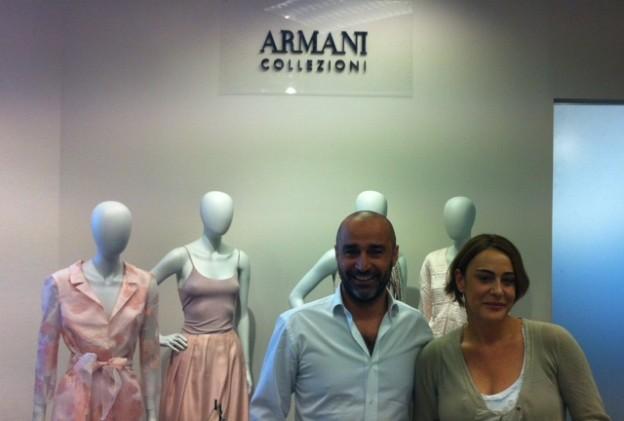 Armani coleccion primavera verano 2013