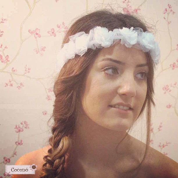 corona de flores trenza setlan moda