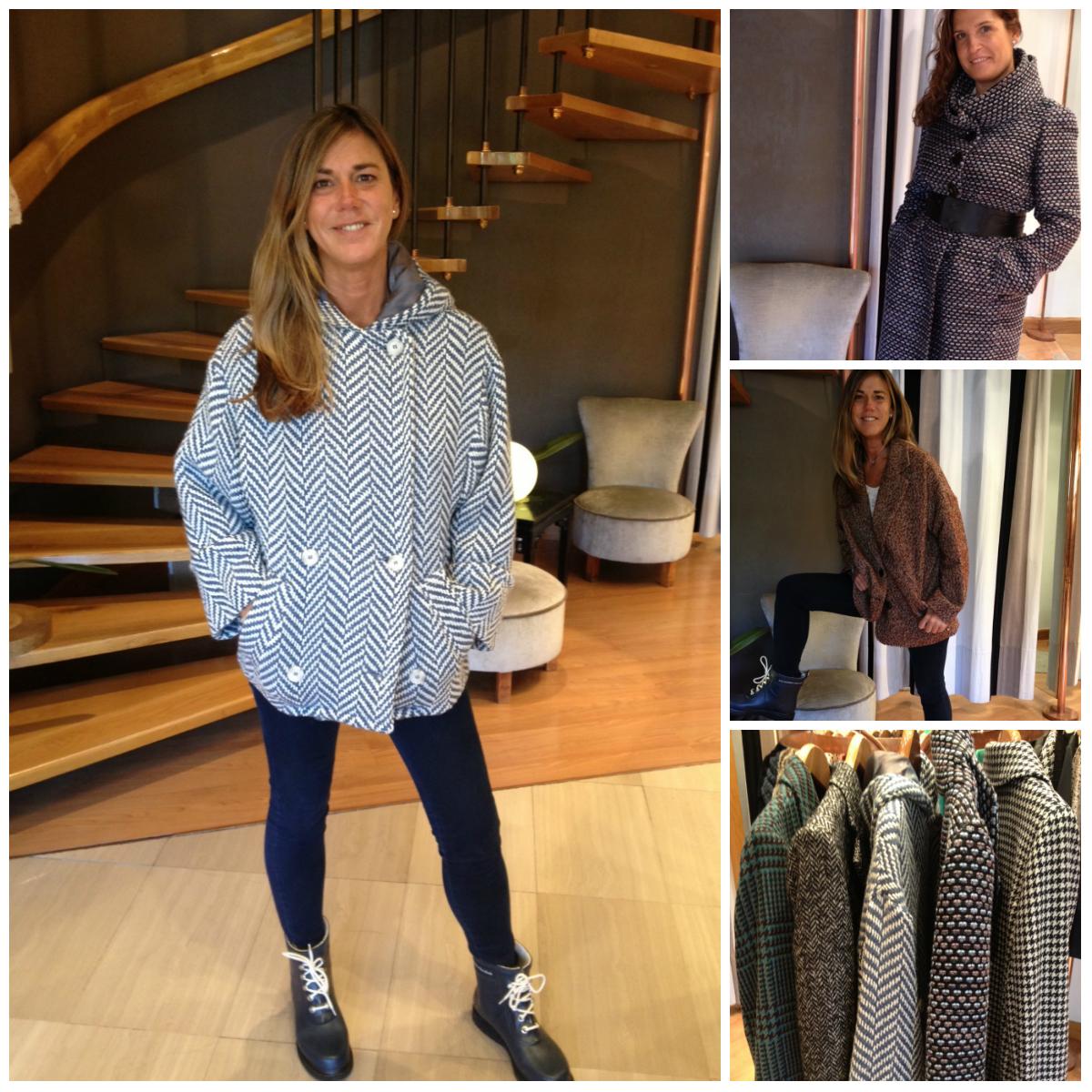 Chaquetas y abrigos de tweed Setlan Moda Mujer
