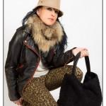 Mamen con pantalón print de leopardo