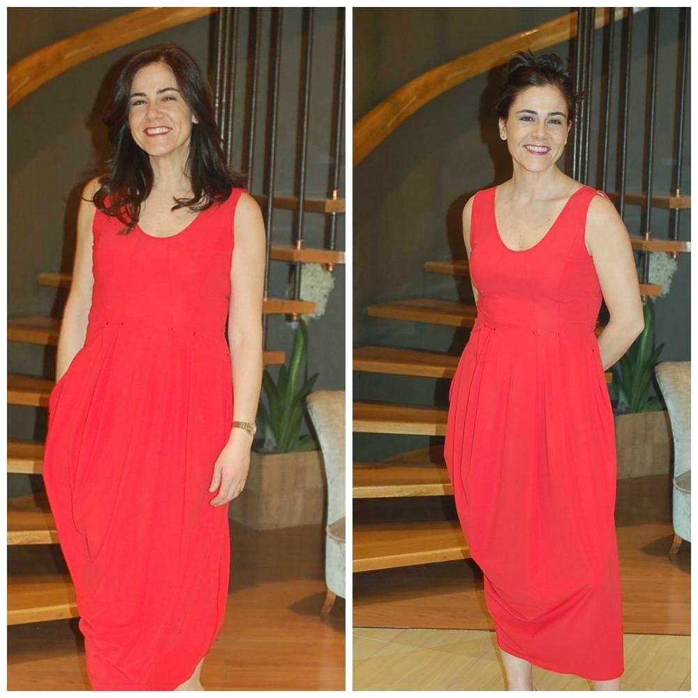 Rojo Total Look Setlan Moda Primavera Verano 2014