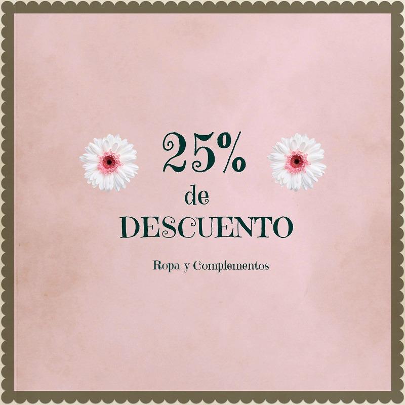 25%de descuento en Setlan Moda